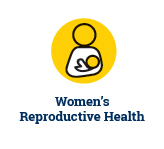 Women's reproductive health graphic