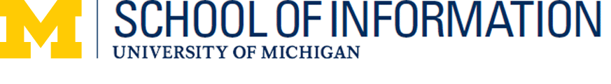 U-M School of Information logo