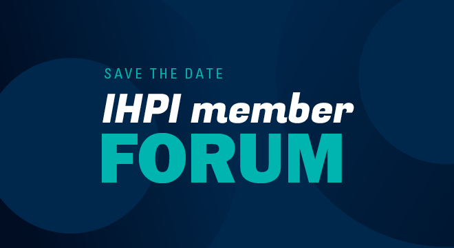 Save the Date for Member Forum