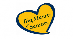 Big hearts for seniors logo