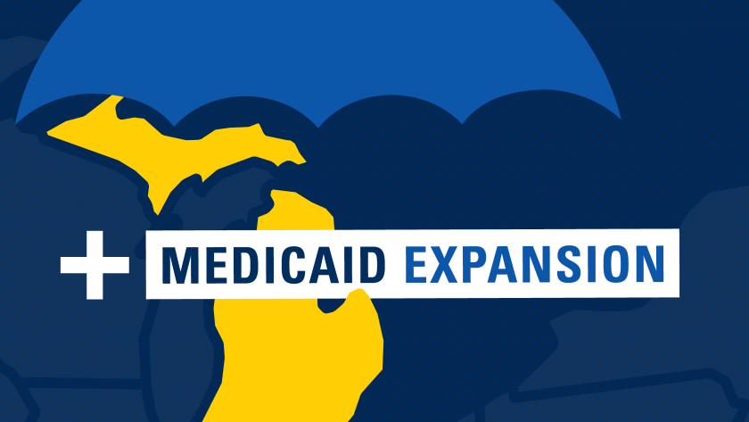 Medicaid expansion home page graphic