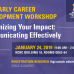 2019 Early Career Faculty Development Workshop
